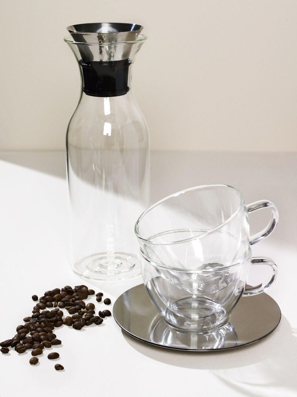 Glaskop & Kaffekande