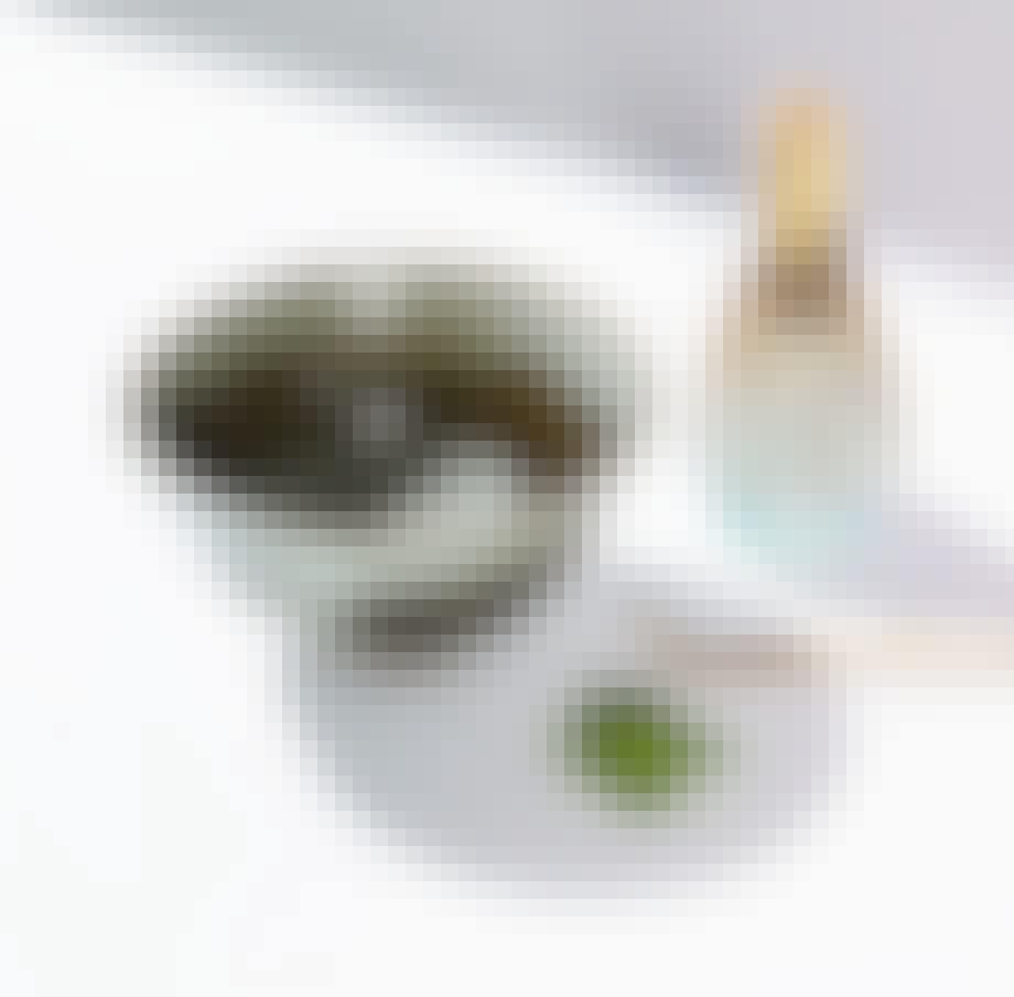 Matcha-skål