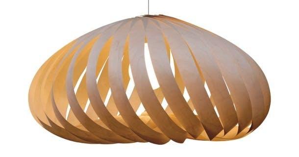 Skulpturel lampe