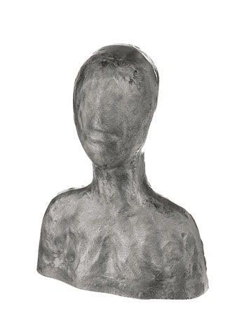 Buste i aluminium
