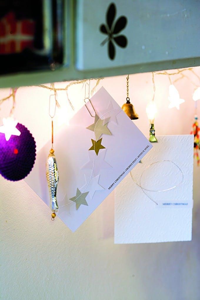 Vis julekortene frem