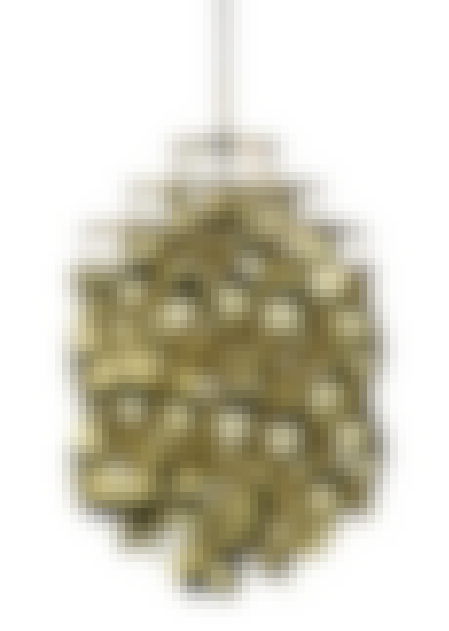 Gylden loftslampe