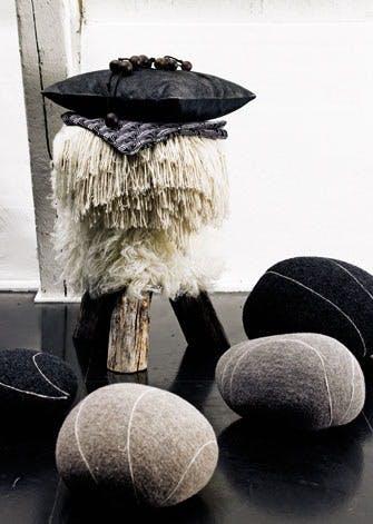Dyrk det nordiske look med træ, sten og pels kombineret med det blødeste kashmir