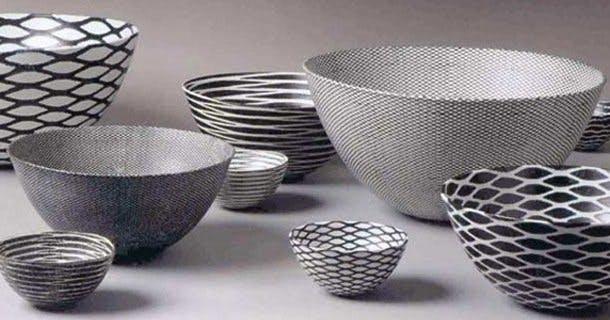 Skulpturelle skåle