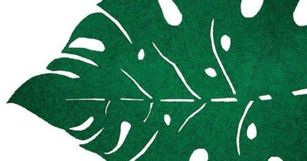 Leaf dørmåtte