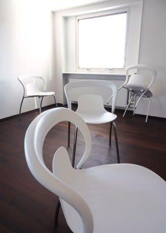 Skulpturel stol