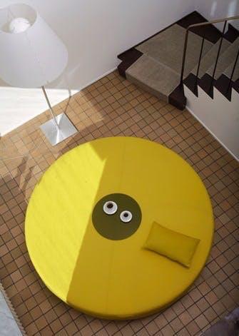 Gigantisk loungepuf