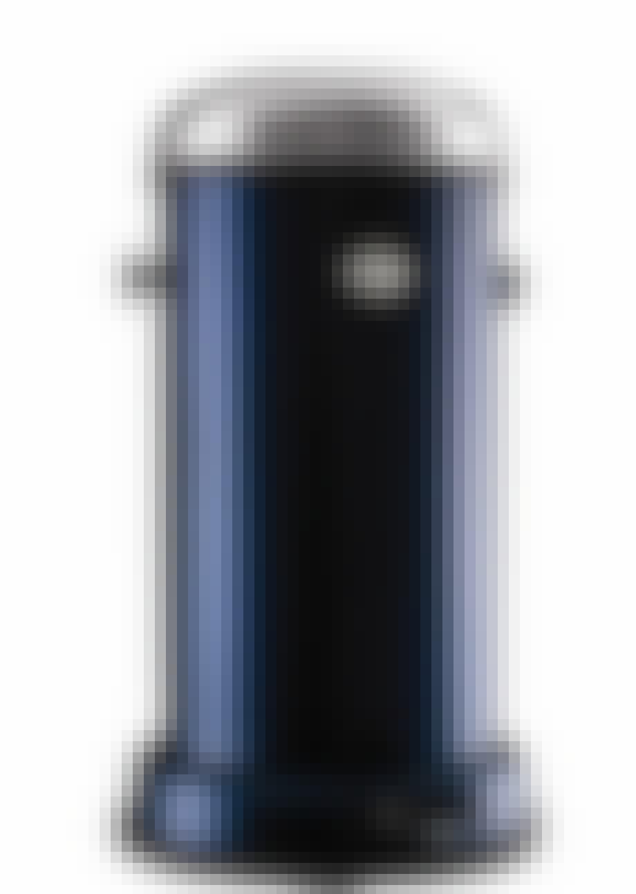 Dybblå pedalspand