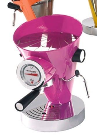 Pink espressomaskine