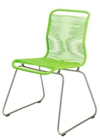 Grøn spisebordsstol