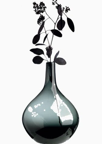 Dråbeformet vase