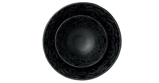 Sorte skåle
