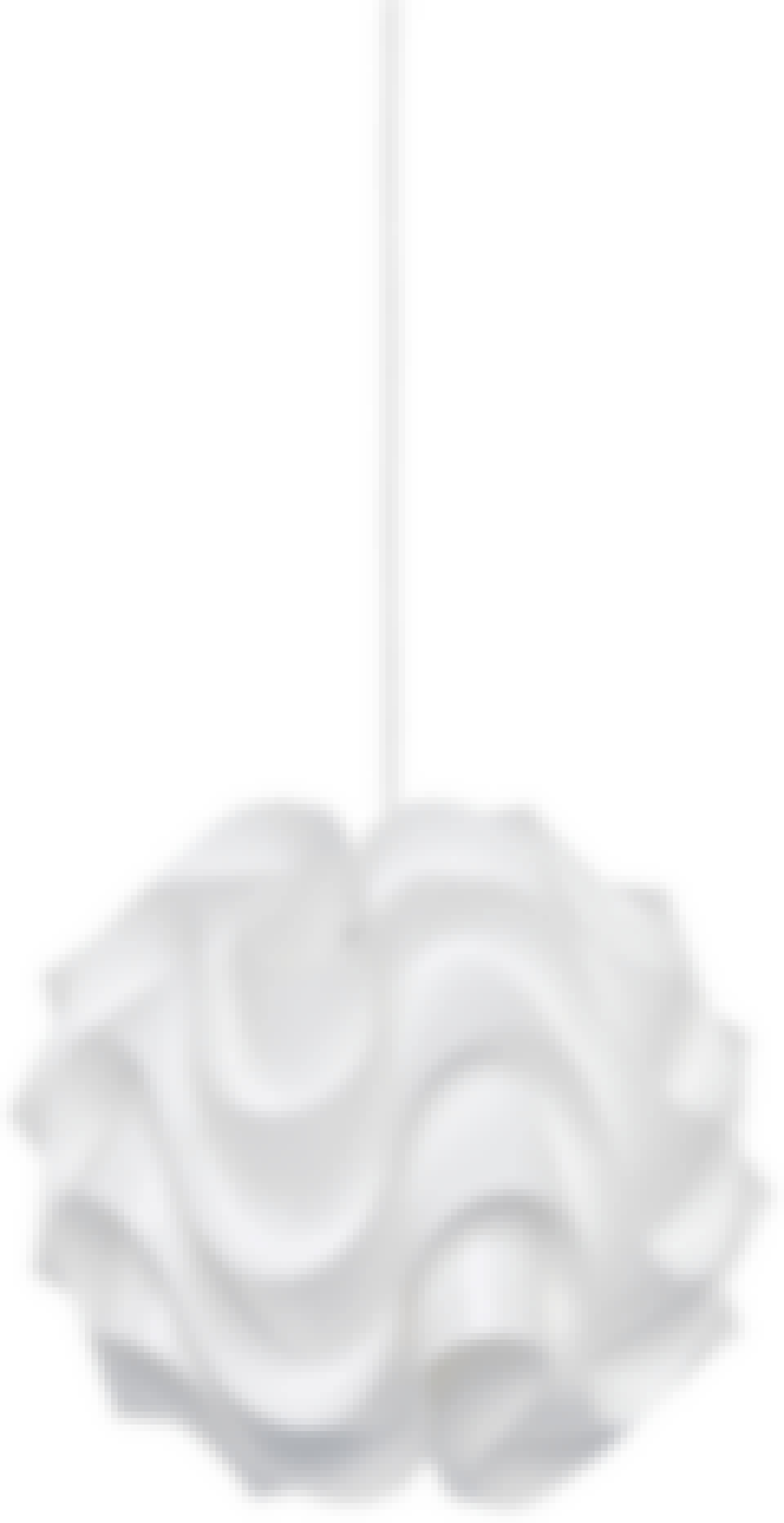 le klint lampe hvid pendel