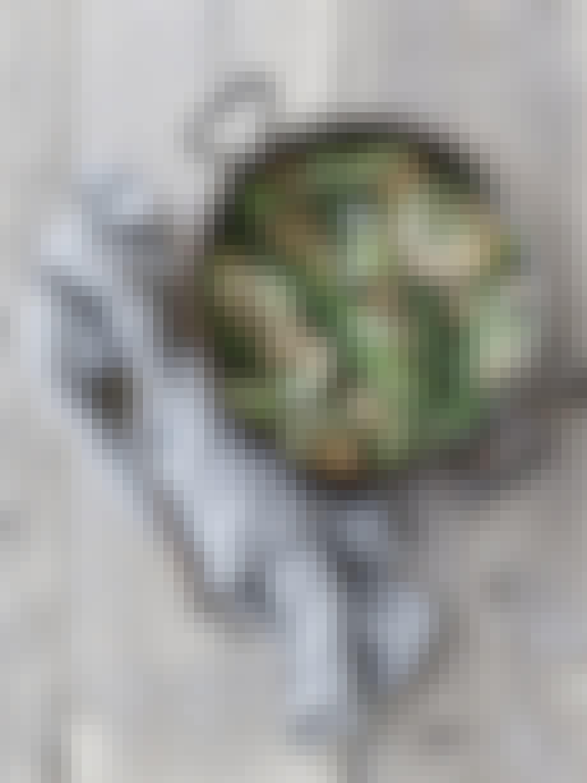pasta aspages grønt hovedret opskrift