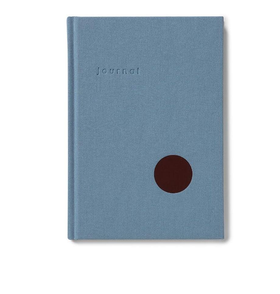 Kartotek notesbog skolestart blå