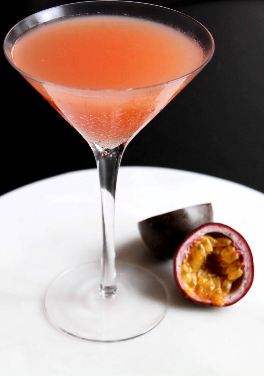 Passion Martini Cocktail