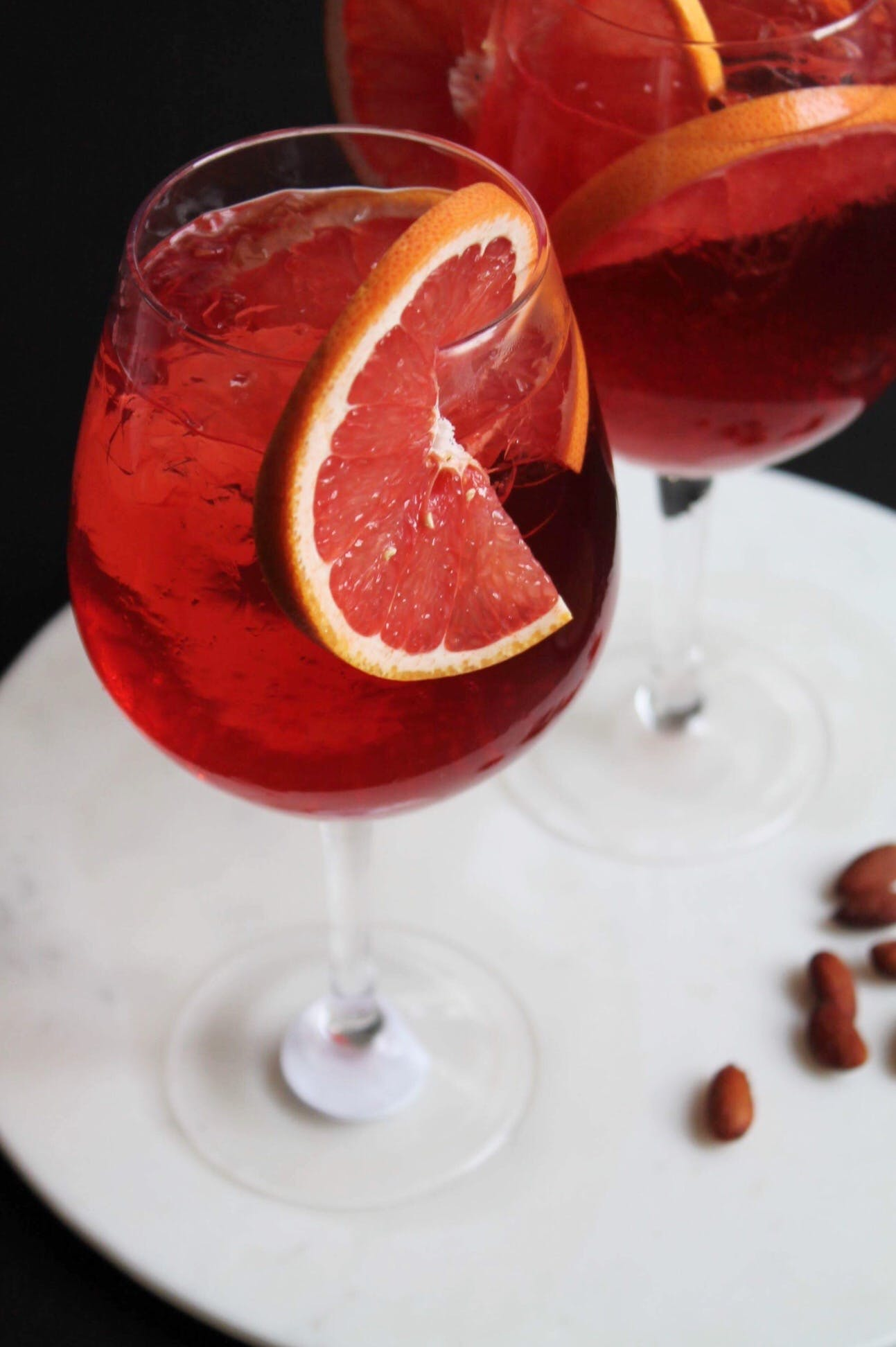 Rose Grape drinks