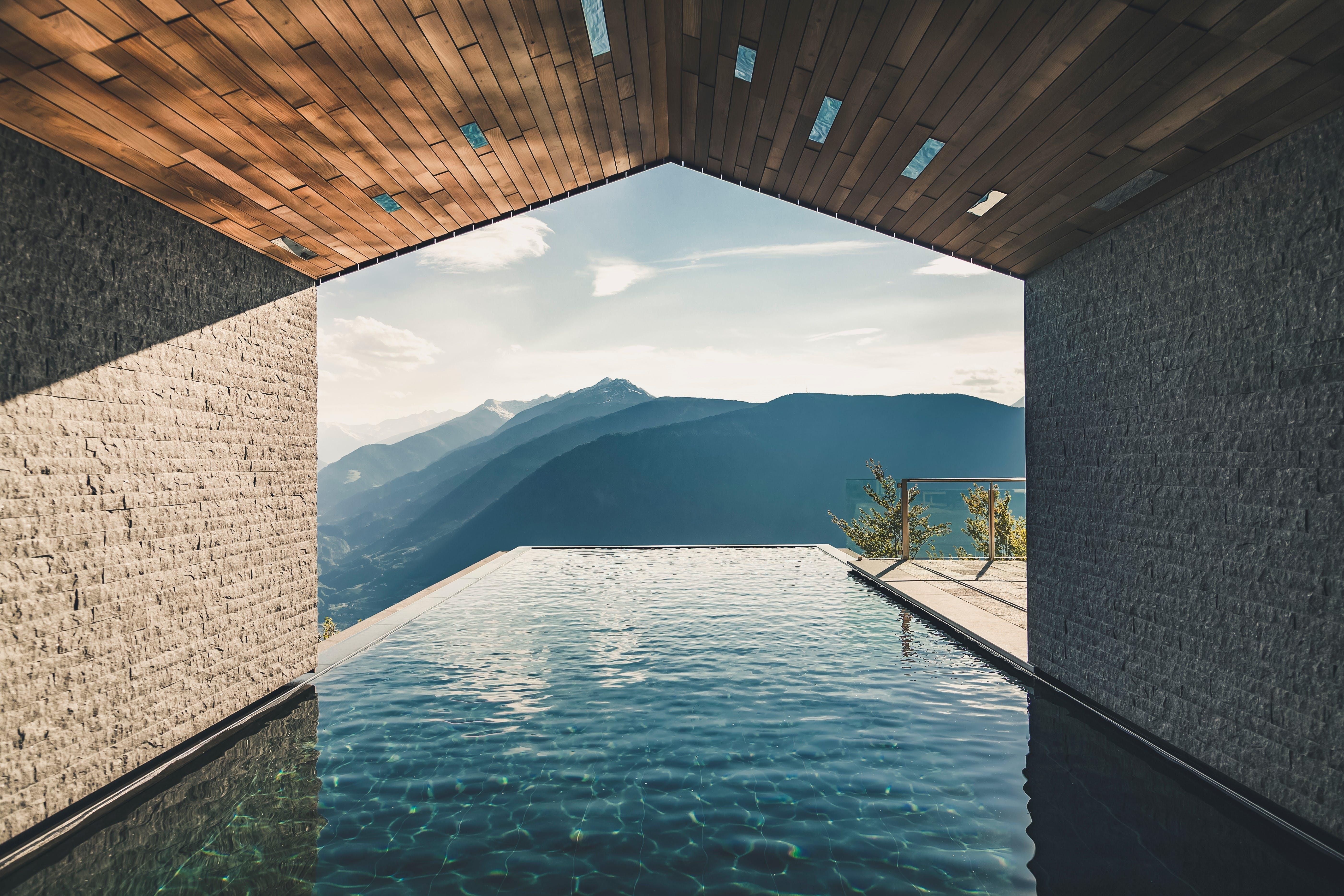 Pool udsigt hotel luksus