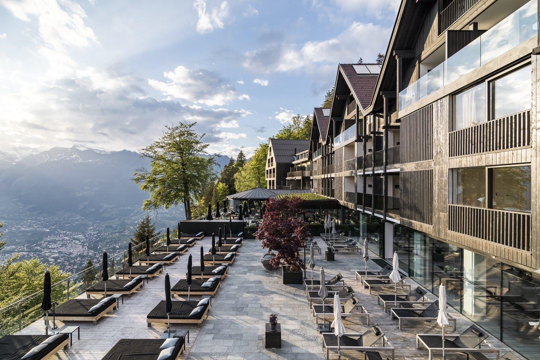 Hotel udsigt Italien luksus