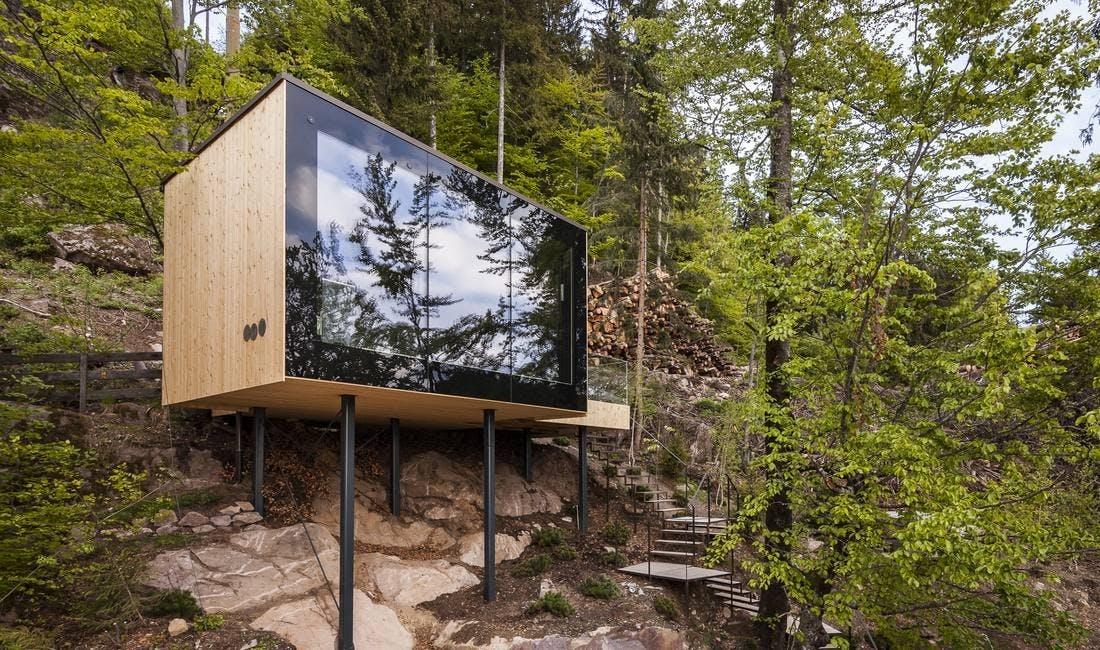 Sauna hotel natur