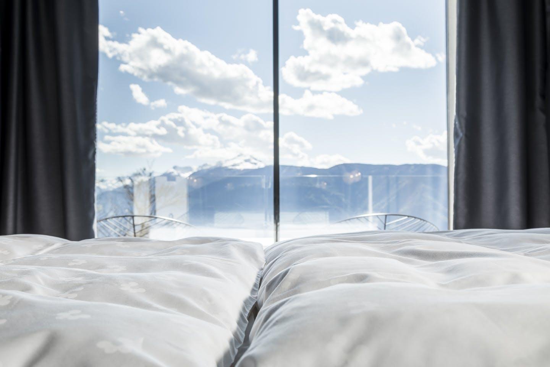 Hotelværelse udsigt luksus