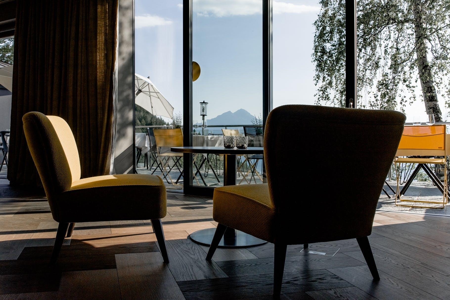 Luksus Hotel Restaurant udsigt
