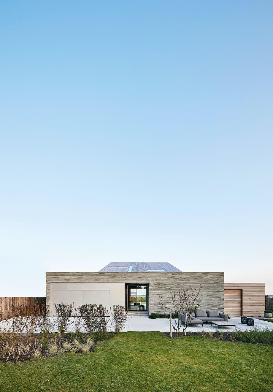 villa grå arkitekt design