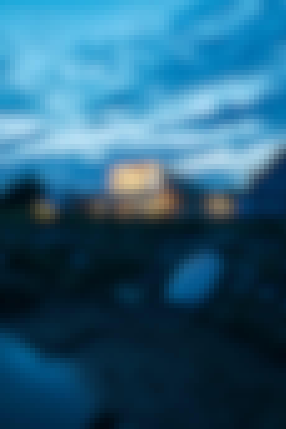 Villa udsigt moderne havudsigt