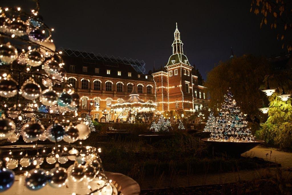 tivoli jul julemarked juletræ parterrehaven