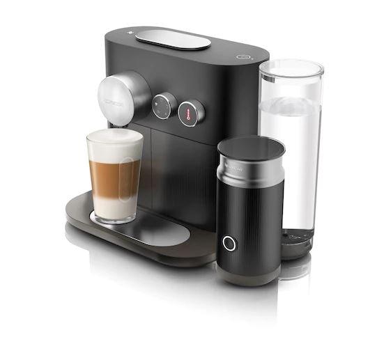 nespresso Expert&Milk sort kaffemaskine