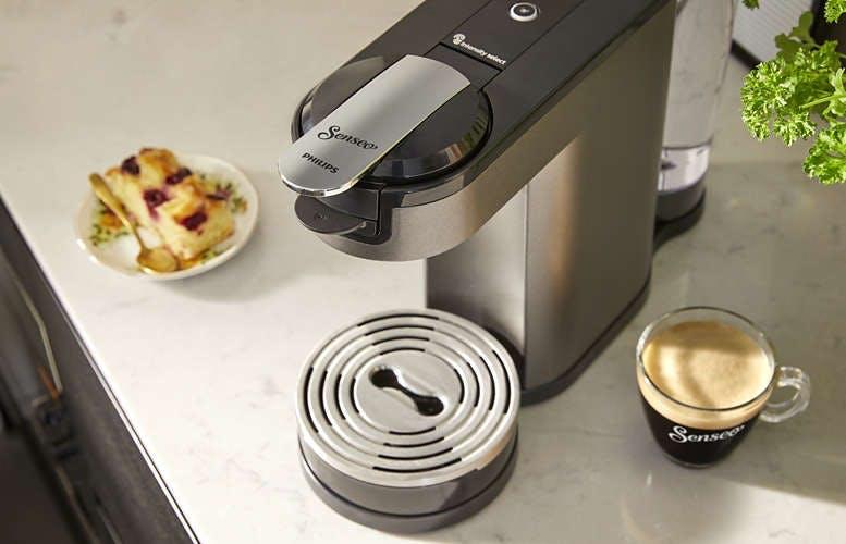 Senseo phillips kaffe maskine sort grå