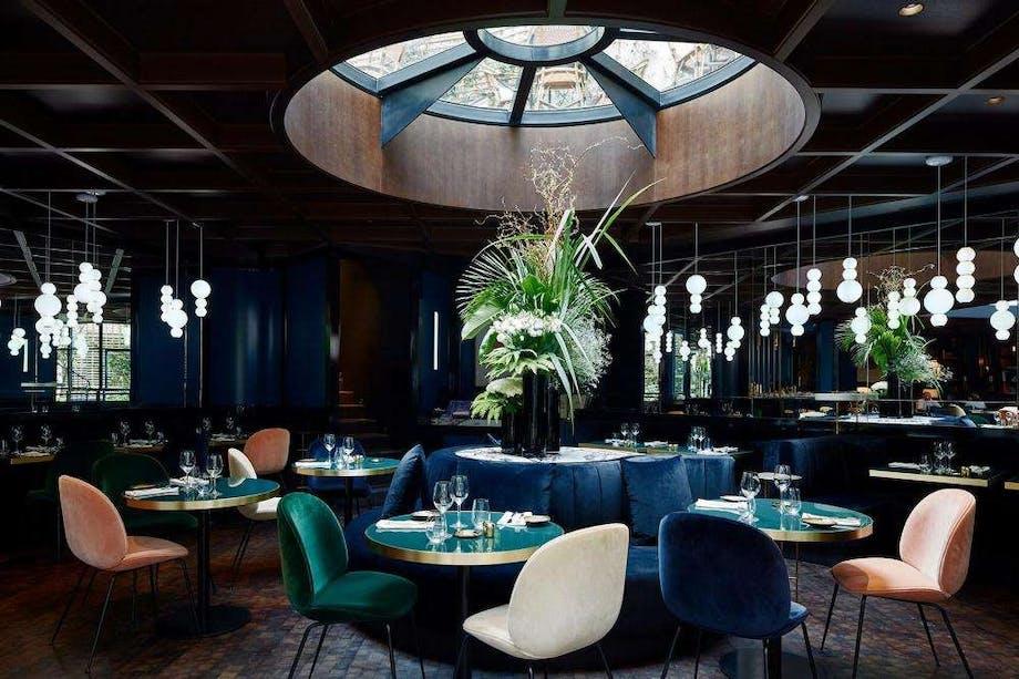 Hotel luksus restaurant paris