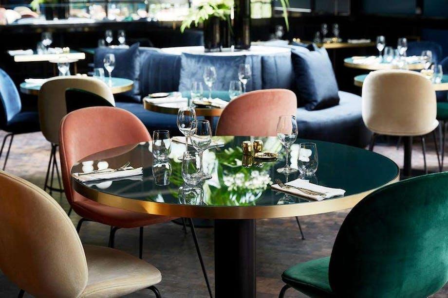 Restaurant Gubi Hotel Paris