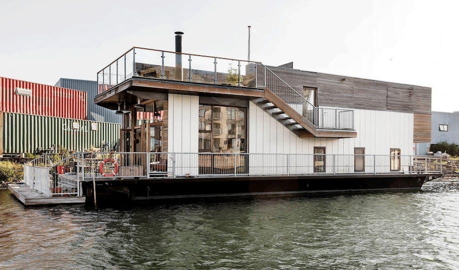 husbåd moderne køb til salg