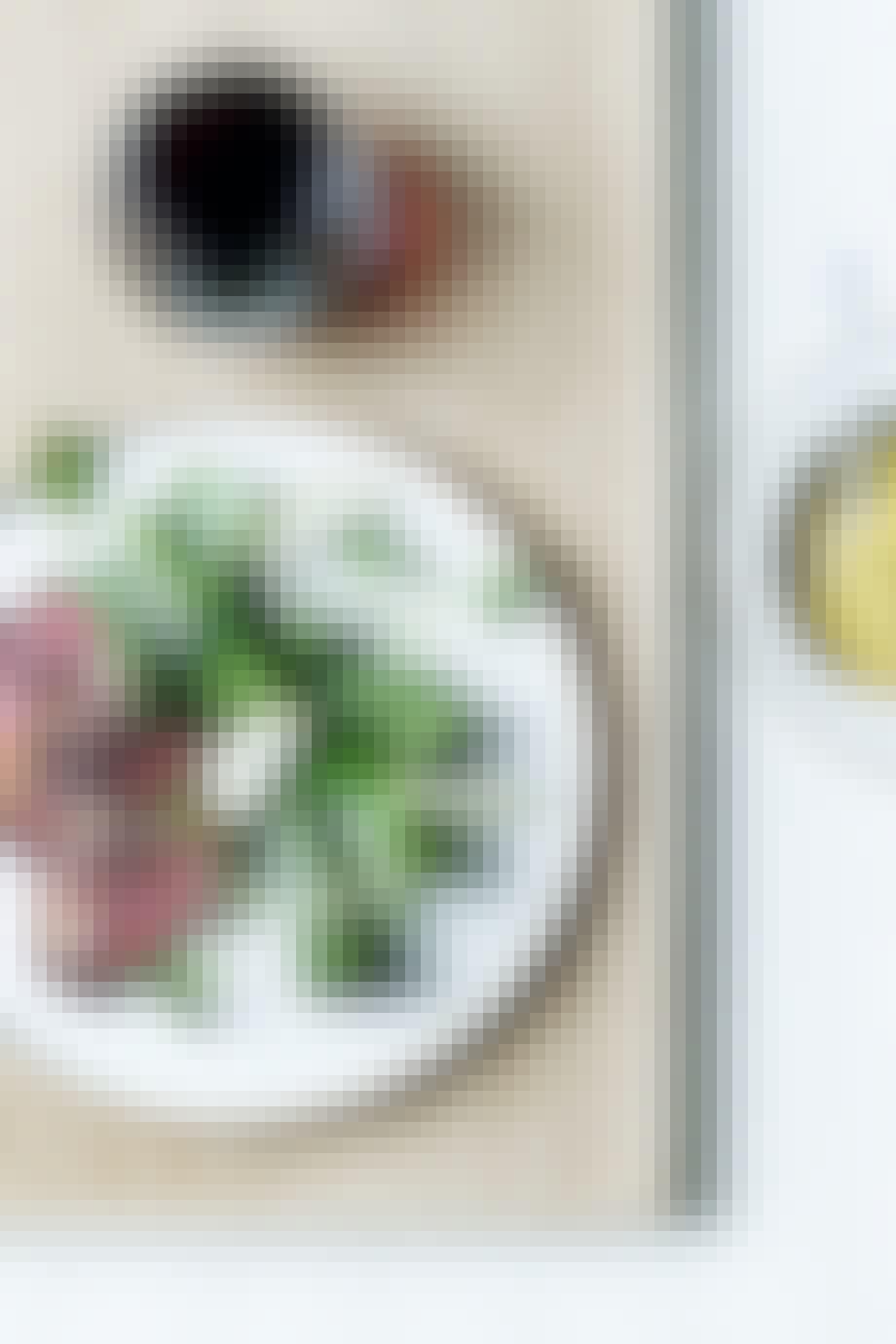 lam bearnaise løvstikke aftensmad opskrift