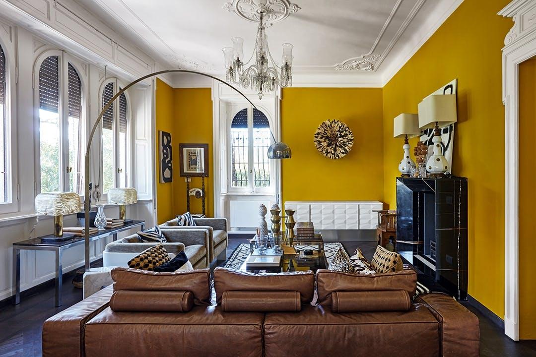 stue sofa gul væg malene birger
