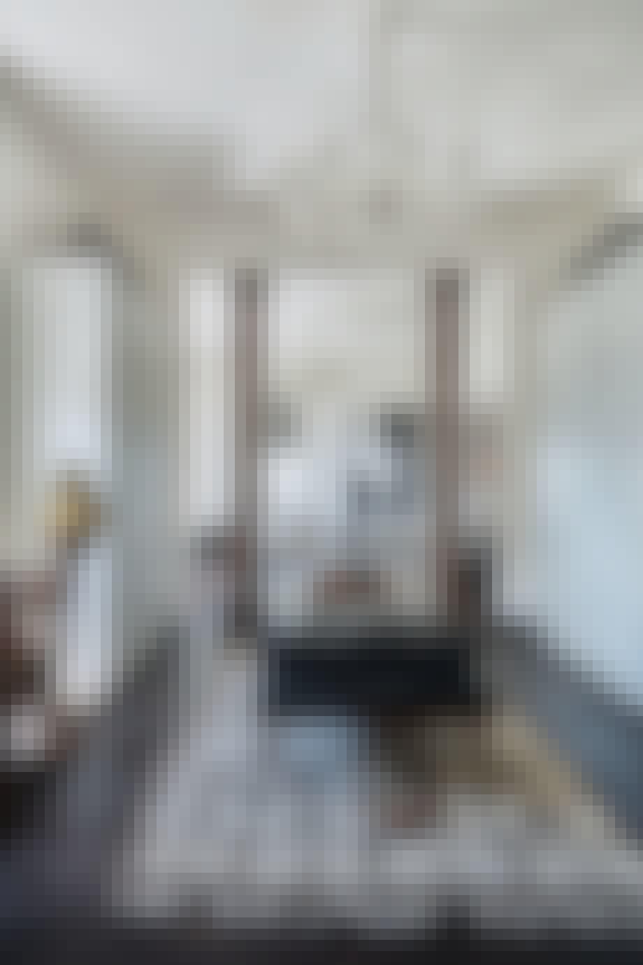 tæppe lysekrone stue indretning malene birger