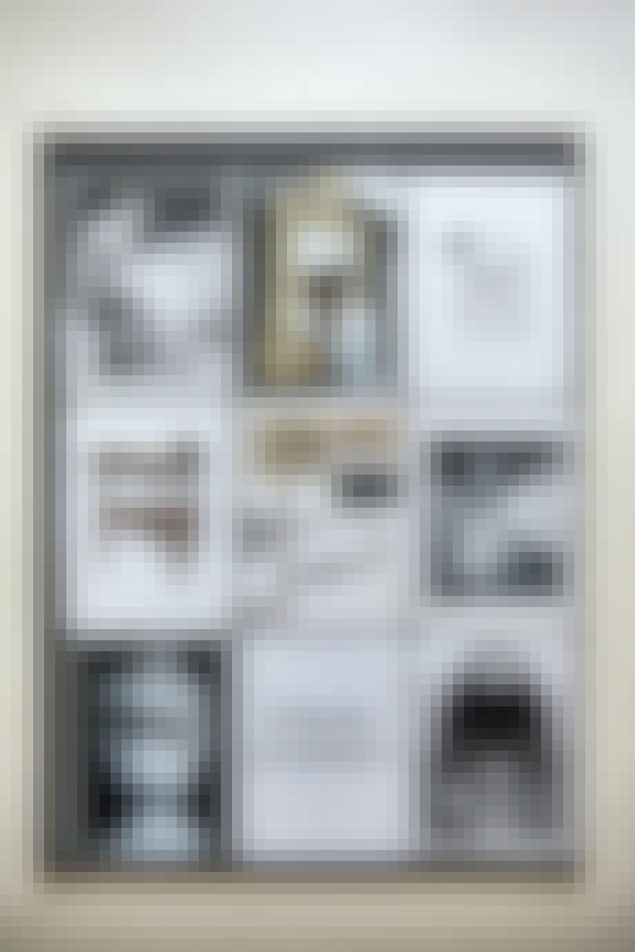 billeder galleri væg plakat kunst malene birger