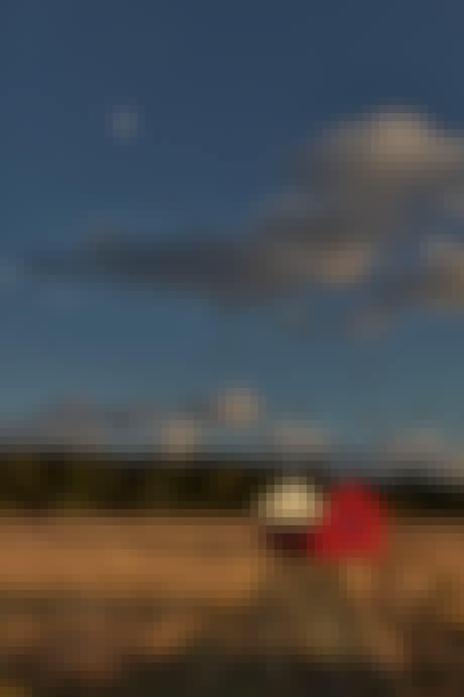 det røde hus mark himmel kunst kvadrat anders byriel