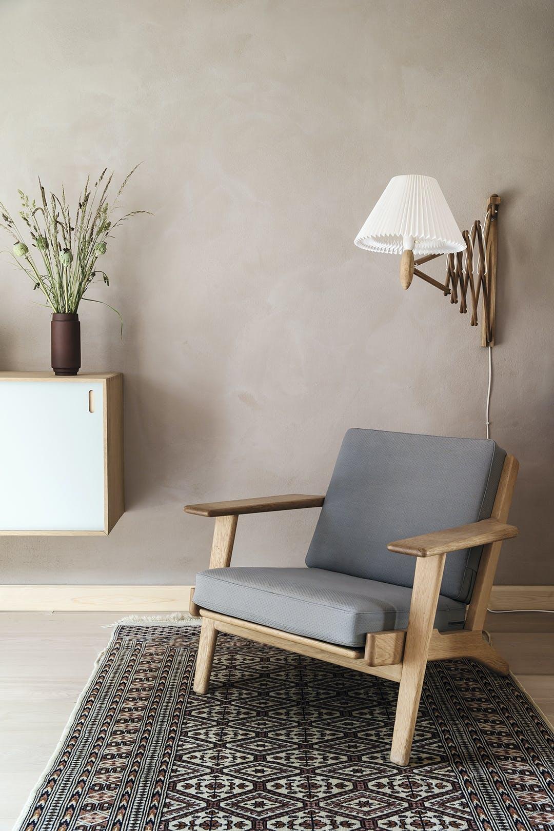 Lænestol indretning minimalistisk