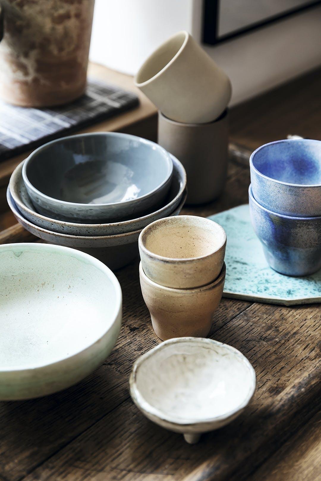 Keramik farver porcelæn