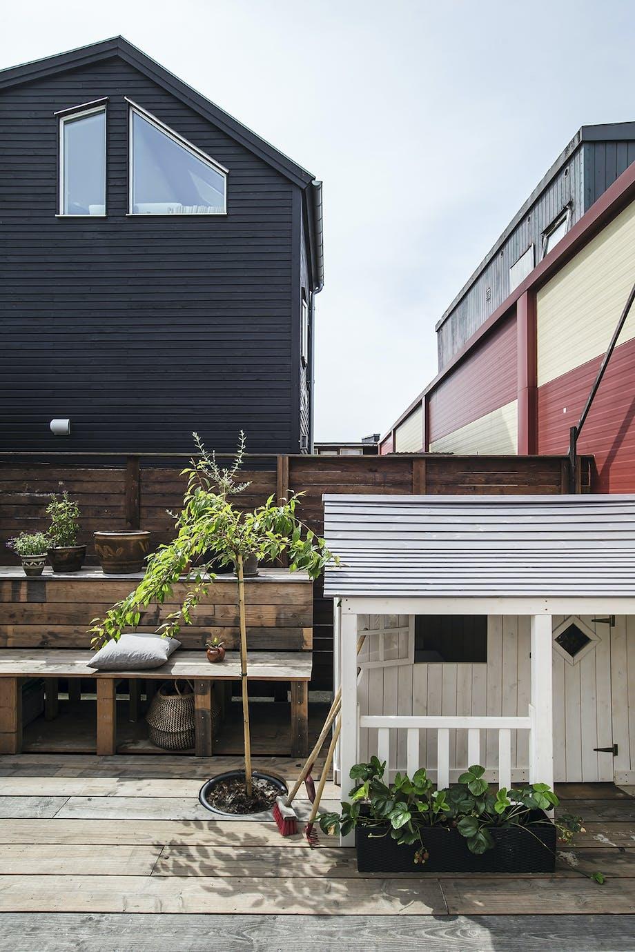 Naverhuset selvbyg terrasse sydhavn