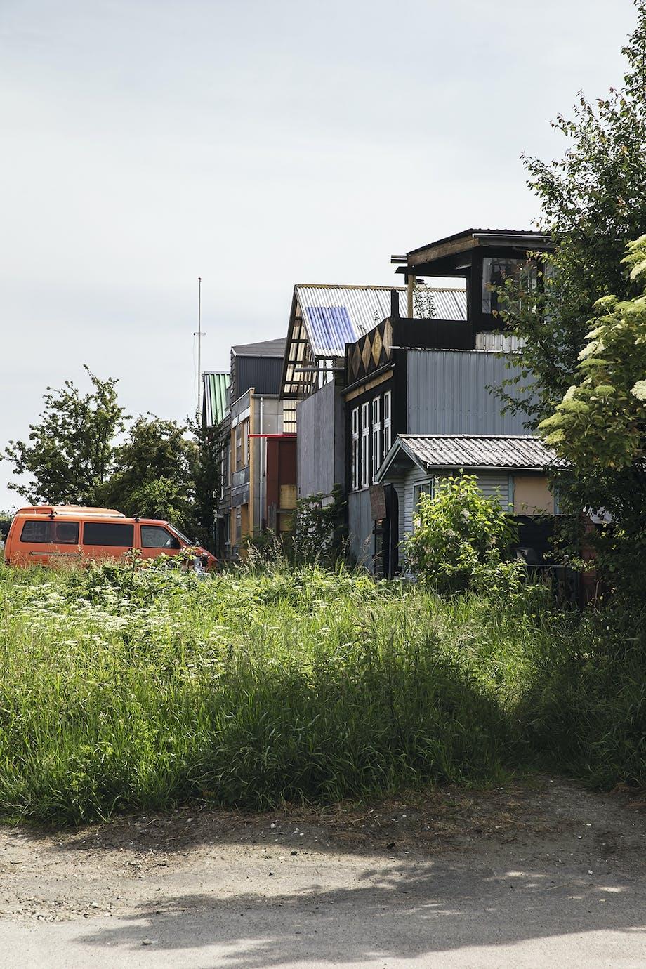 Sydhavnen facade træhus