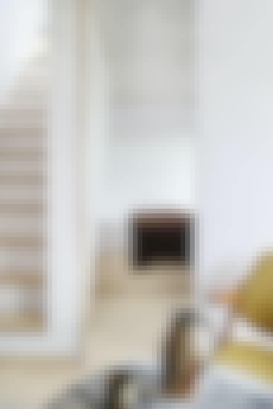 Trappe soveværelse træ seng