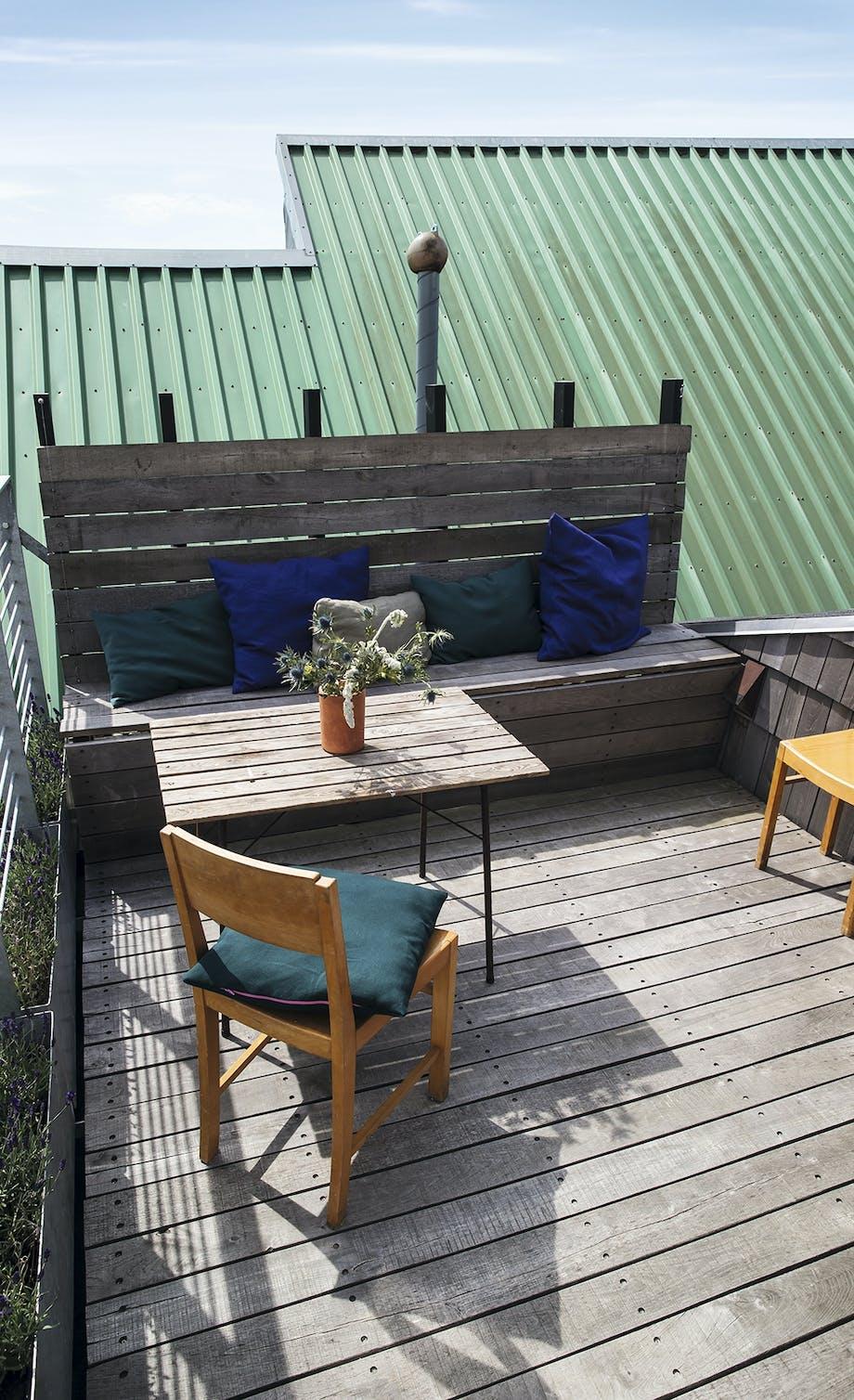 Terrasse havemøbler træ
