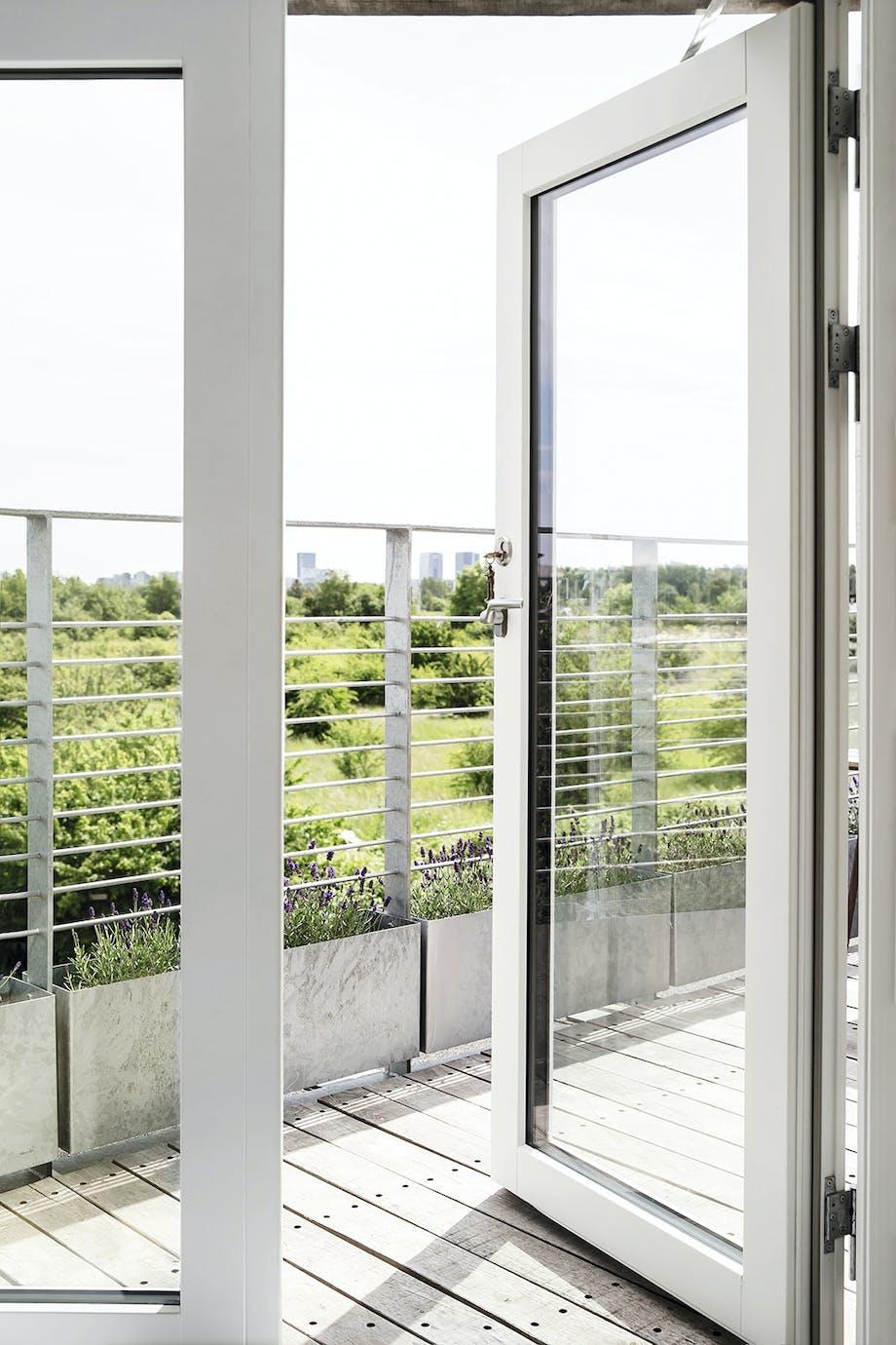 Udsigt vinduer grønt