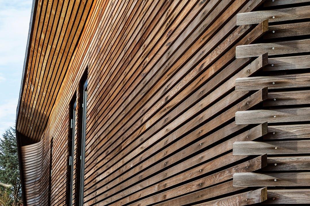 facedemateriale træbeklædt væg vægbelægning