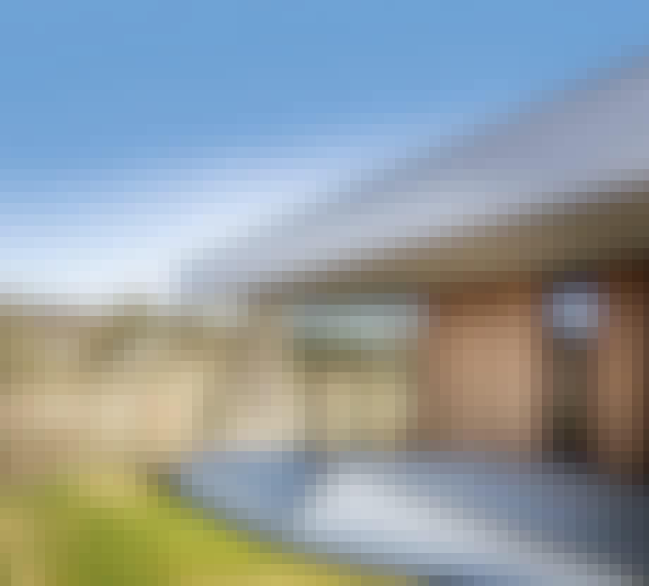 facade terasse hus træbeklædt