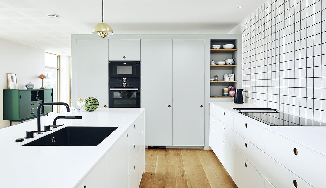 Hvidt Køkken villa