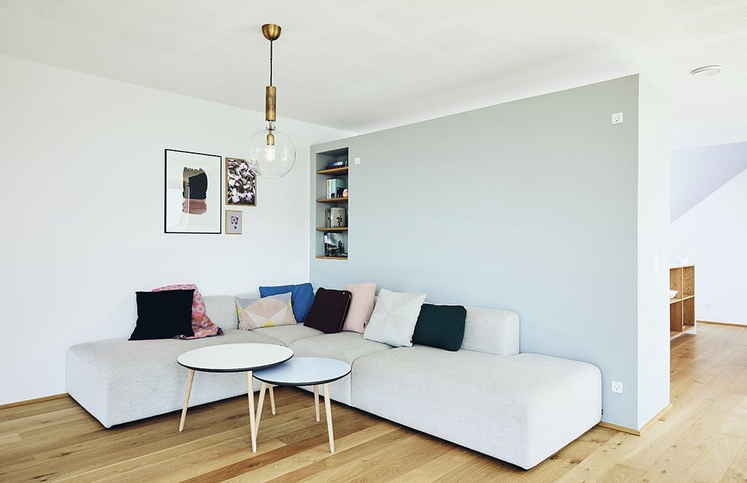 Stue sofa hay
